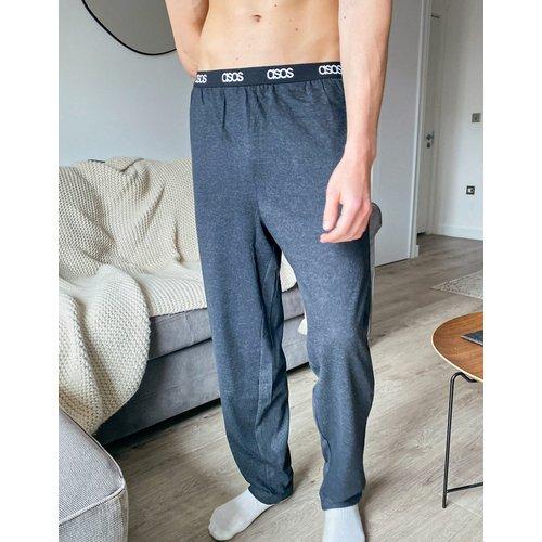 Bas de pyjama confort - Anthracite - ASOS DESIGN - Modalova