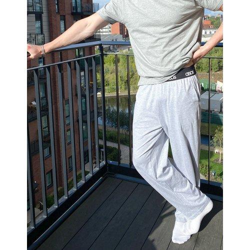 Bas de pyjama confortable - chiné - ASOS DESIGN - Modalova