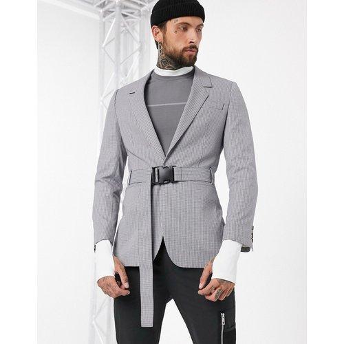 Blazer oversize à ceinture - ASOS DESIGN - Modalova