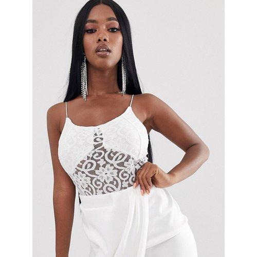 Body style caraco en dentelle avec coutures - ASOS DESIGN - Modalova