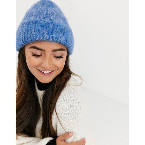 Bonnet bicolore duveteux - ASOS DESIGN - Modalova