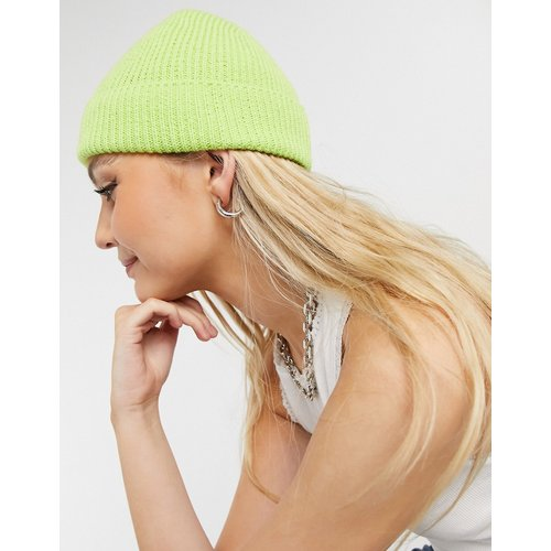 Bonnet côtelé style pêcheur en polyester recyclé - ASOS DESIGN - Modalova