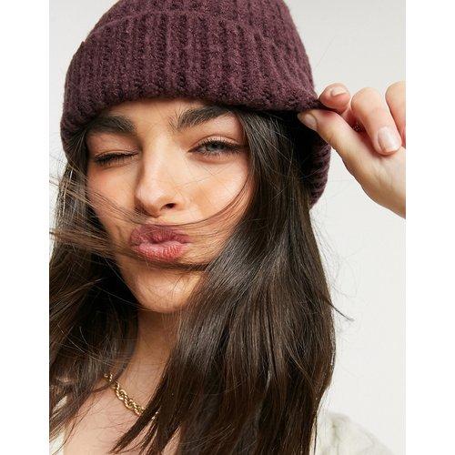 Bonnet épais avec revers large - foncé - ASOS DESIGN - Modalova