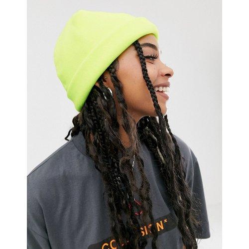 Bonnet style pêcheur en feutre - fluo - ASOS DESIGN - Modalova