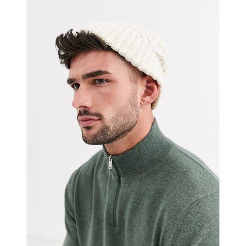 Bonnet style pêcheur en maille torsadée - ASOS DESIGN - Modalova