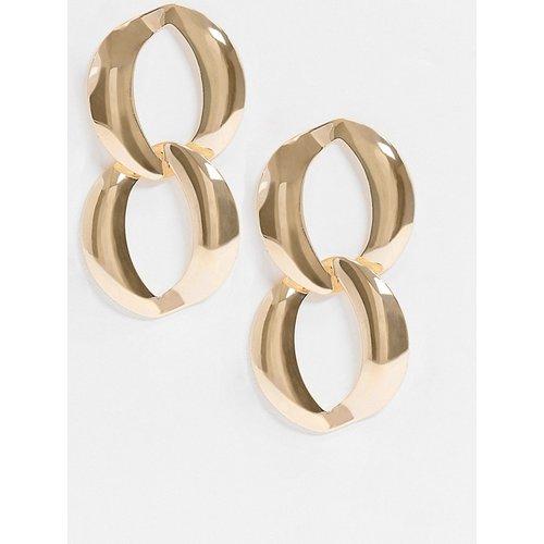 Boucles d'oreilles à chaînettes pendantes - ASOS DESIGN - Modalova