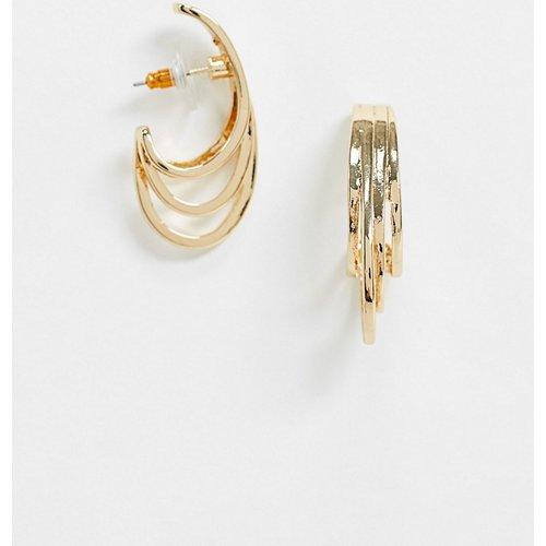 Boucles d'oreilles anneau minimalistes - ASOS DESIGN - Modalova