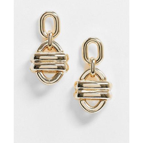 Boucles d'oreilles anneaux épurées - ASOS DESIGN - Modalova