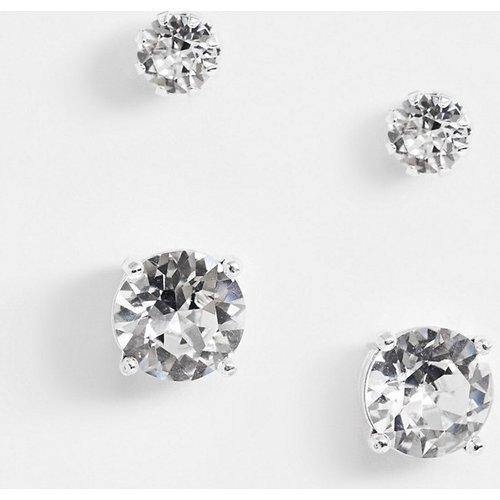 Boucles d'oreilles avec cristaux Swarovski - ASOS DESIGN - Modalova