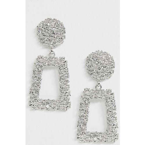 Boucles d'oreilles carrées - ASOS DESIGN - Modalova