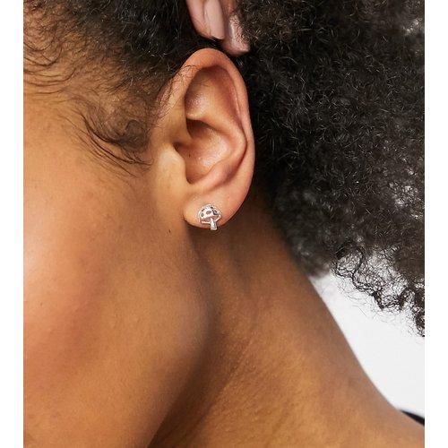 Boucles d'oreilles motif champignon - massif - ASOS DESIGN - Modalova