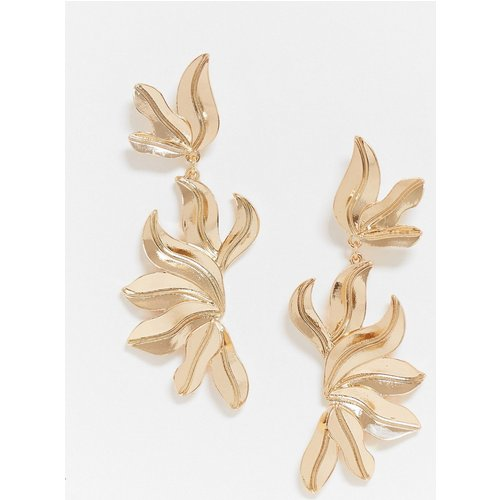 Boucles d'oreilles texturées - ASOS DESIGN - Modalova
