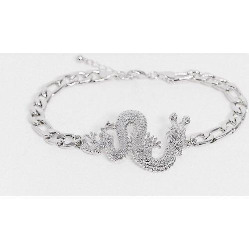 Bracelet de cheville avec dragon - ASOS DESIGN - Modalova