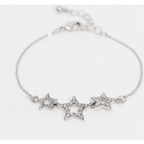 Bracelet en chaîne à breloques étoiles en strass - ASOS DESIGN - Modalova