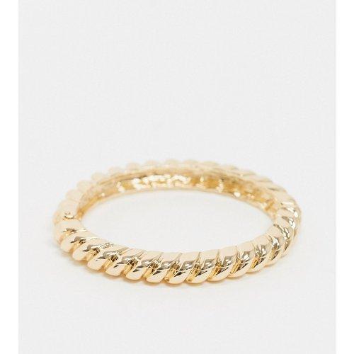 Bracelet jonc épais torsadé - ASOS DESIGN - Modalova