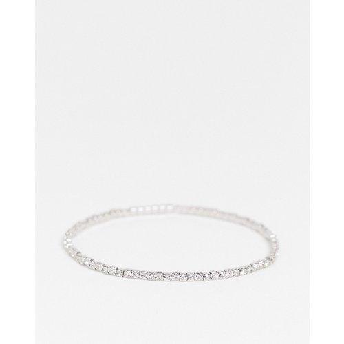 Bracelet stretch avec cristaux - ASOS DESIGN - Modalova