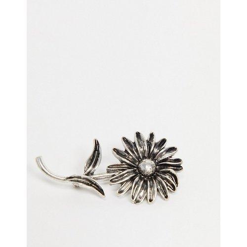 Broche fleur - poli - ASOS DESIGN - Modalova