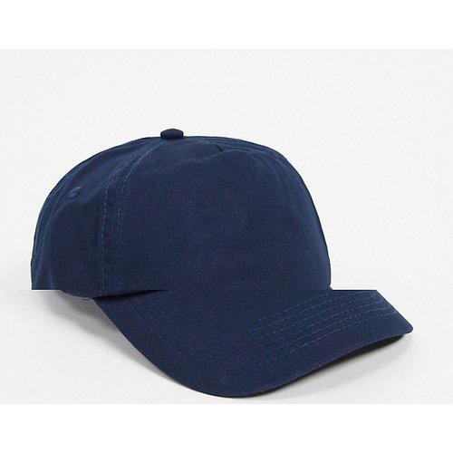 Casquette de baseball - Bleu marine - ASOS DESIGN - Modalova