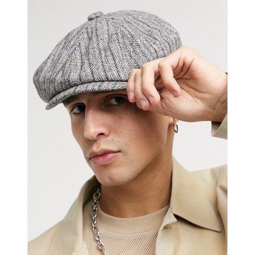 Casquette gavroche en tweed de laine - ASOS DESIGN - Modalova