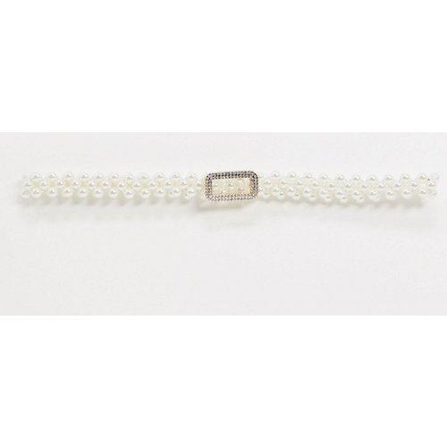 Ceinture stretch ornée de perles - ASOS DESIGN - Modalova