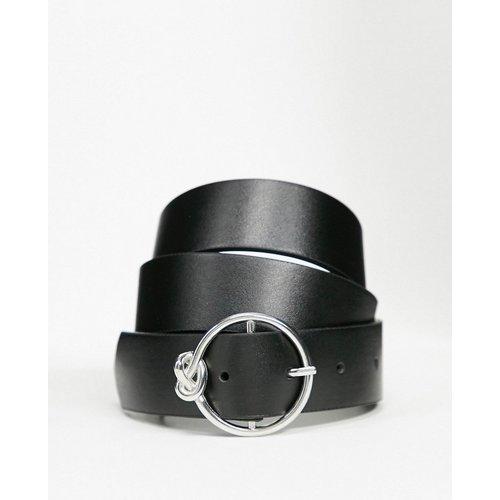 Ceinture taille ou hanches avec boucle ronde et nœud - ASOS DESIGN - Modalova