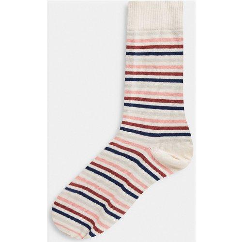 Chaussettes à rayures arc-en-ciel - ASOS DESIGN - Modalova