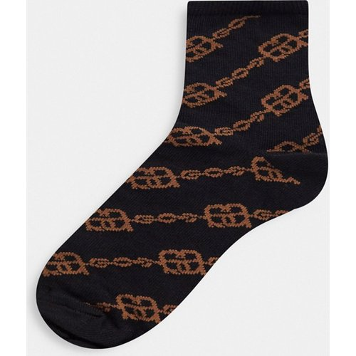 Chaussettes avec monogramme - ASOS DESIGN - Modalova