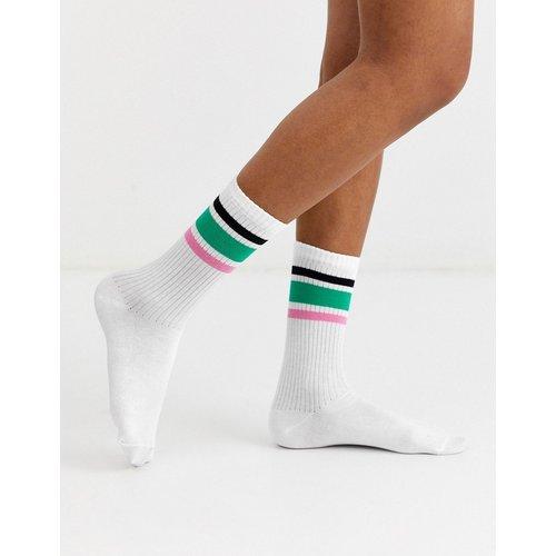 Chaussettes mi-mollets à rayures - Multicolore - ASOS DESIGN - Modalova