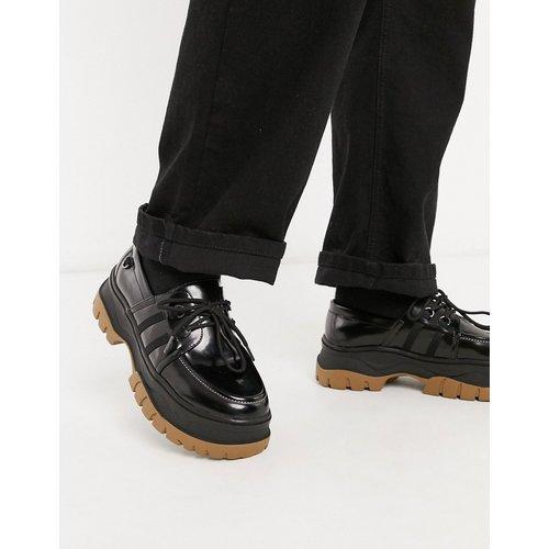 Chaussures bateau imitation cuir à grosse semelle - ASOS DESIGN - Modalova