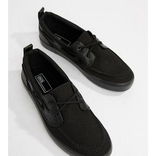 Chaussures bateau pointure large en cuir - ASOS DESIGN - Modalova