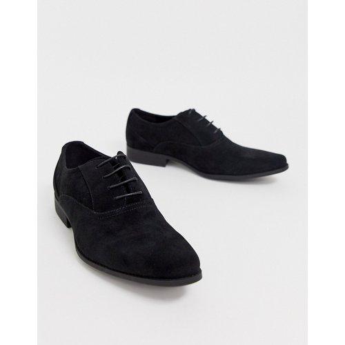 Chaussures richelieu en imitation daim - ASOS DESIGN - Modalova