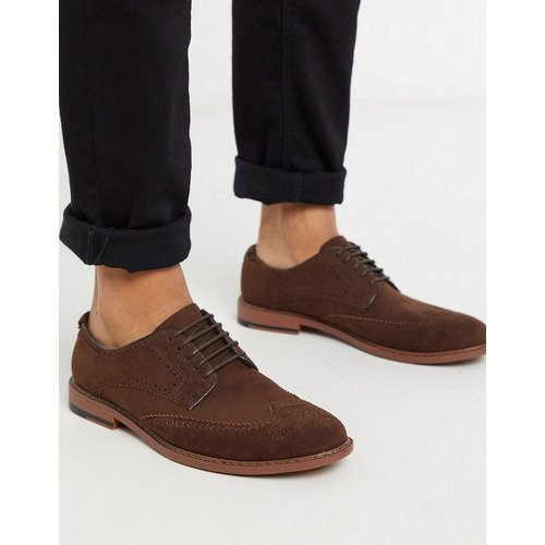 Chaussures richelieu imitation daim - ASOS DESIGN - Modalova