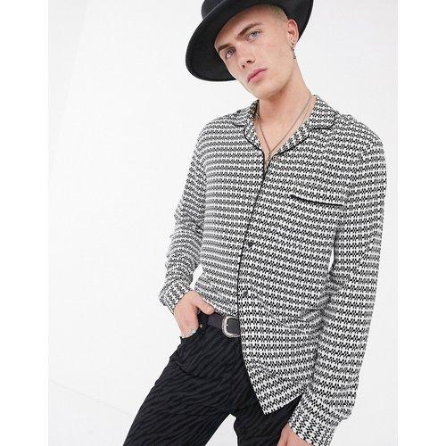 Chemise de pyjama coupe classique à imprimé géographique - ASOS DESIGN - Modalova