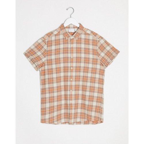 Chemise d'été à carreaux coupe classique - ASOS DESIGN - Modalova