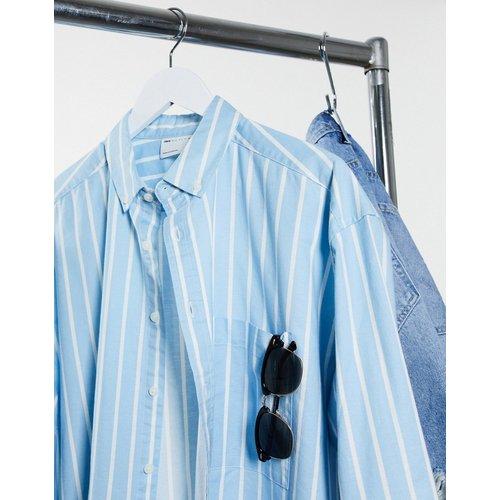 Chemise oversize style 90's à rayures Oxford - ASOS DESIGN - Modalova