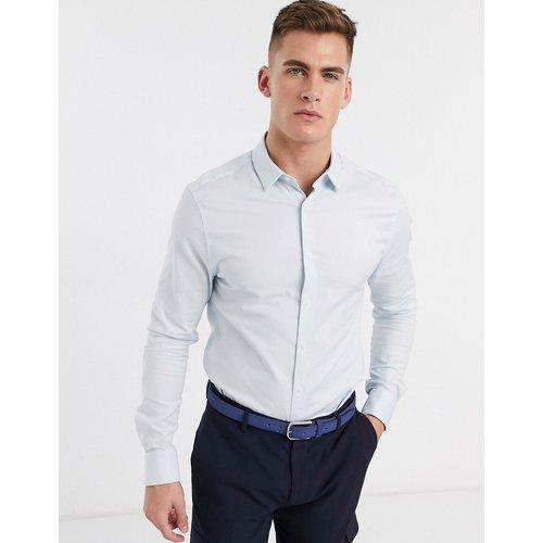 Chemise Oxford habillée coupe ajustée - clair - ASOS DESIGN - Modalova