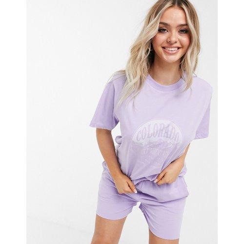 Colorado - T-shirt oversize confort - (ensemble) - ASOS DESIGN - Modalova