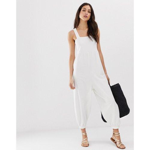 Combinaison minimaliste en jersey à bretelles - ASOS DESIGN - Modalova