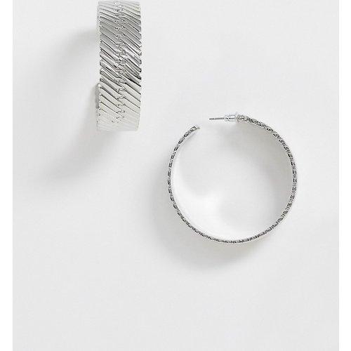 Créoles avec bracelet de montre - ASOS DESIGN - Modalova