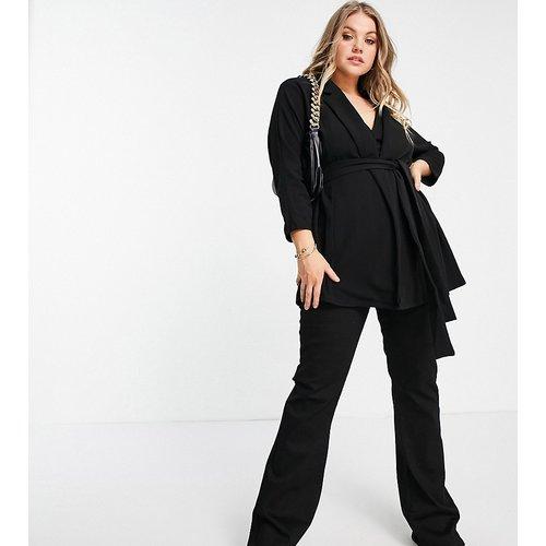 ASOS DESIGN Curve - Blazer de tailleur croisé en jersey - ASOS Curve - Modalova