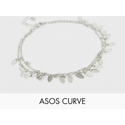 ASOS DESIGN Curve - Bracelet de cheville multirang à jolies breloques - ASOS Curve - Modalova