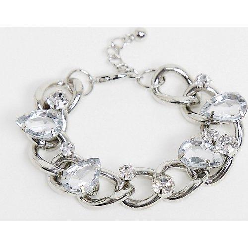 ASOS DESIGN Curve - Bracelet style gourmette orné de cristaux - ASOS Curve - Modalova