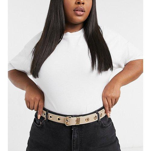 Curve - Ceinture taille ou hanches pour jean avec œillets - ASOS DESIGN - Modalova