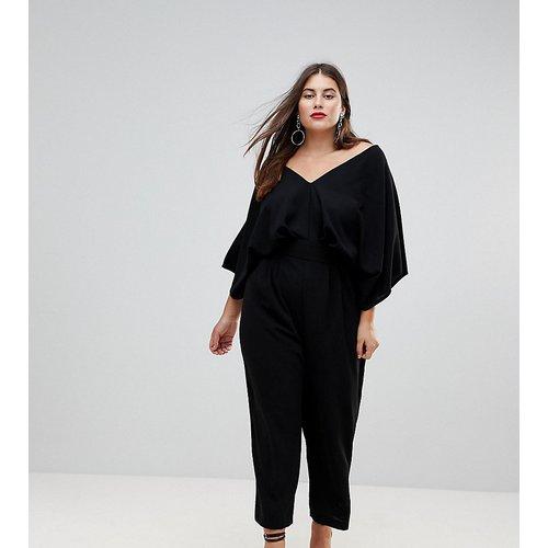 ASOS DESIGN Curve - Combinaison avec manches kimono et pantalon carotte - ASOS Curve - Modalova