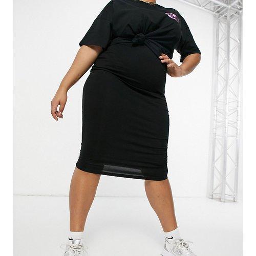 ASOS DESIGN Curve - Jupe fourreau mi-longue en jersey - ASOS Curve - Modalova