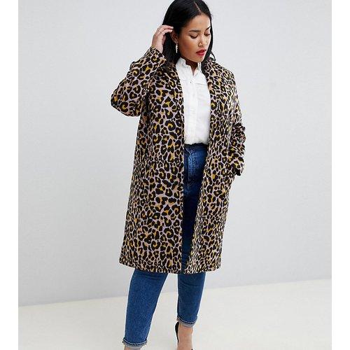 ASOS DESIGN Curve - Manteau léopard - ASOS Curve - Modalova
