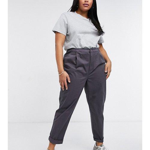 ASOS DESIGN Curve - Pantalon chino - Anthracite - ASOS Curve - Modalova