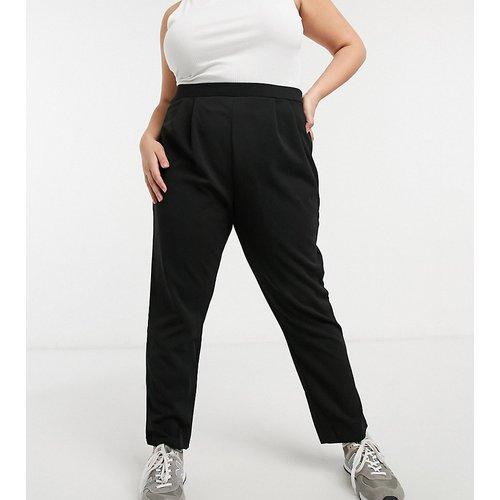 ASOS DESIGN Curve - Pantalon de tailleur fuselé en jersey - ASOS Curve - Modalova