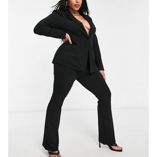 ASOS DESIGN Curve - Pantalon de tailleur slim évasé en jersey - ASOS Curve - Modalova