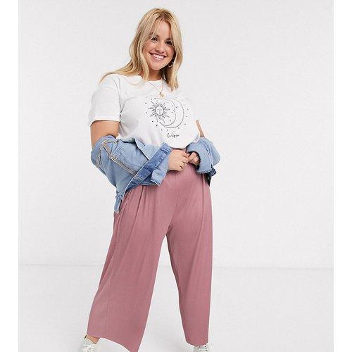 ASOS DESIGN Curve - Pantalon jupe-culotte plissé - ASOS Curve - Modalova